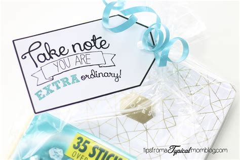 extra gum printable gift tags say quot thank you quot with extra gum free printable gift tag