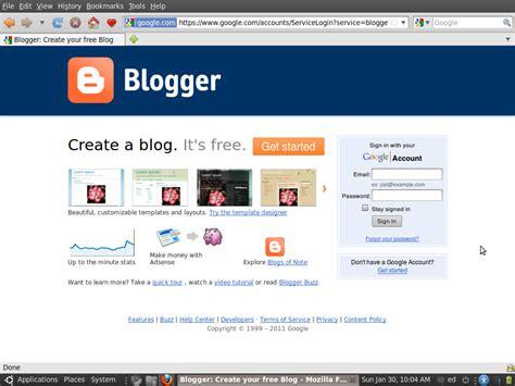 cara membuat blog com cara mendaftar di blogger com blogspot com panduan