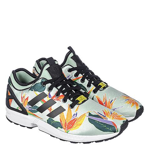 adidas floral shoes adidas adidas zx flux nps s green floral running shoe