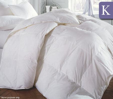 King Size Duck Feather Quilt by King Size 50 Duck 50 Duck Feather Quilt Duvet 2