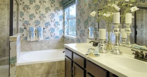 bathroom mirrors jacksonville fl love how the floral arrangement on the counter mirrors the