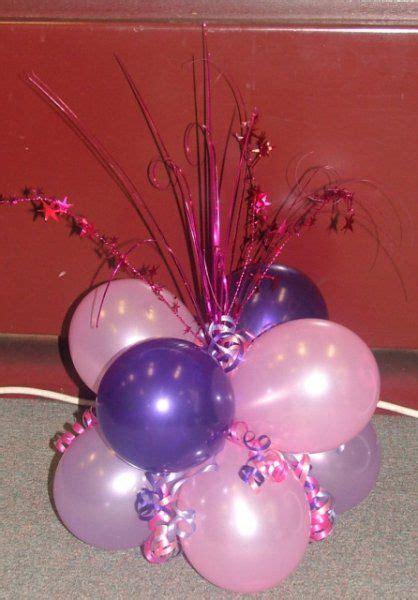 balloon centerpieces for tables balloon centerpieces for tables cluster of 8 balloons