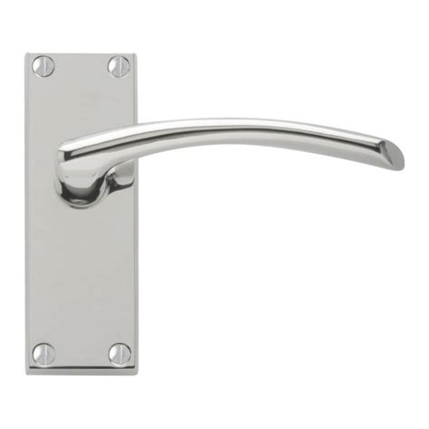 door handles roma door handles polished chrome