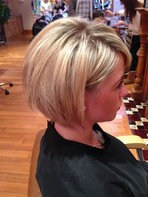 very short stepped bob short hairstyles for thick straight hair hair style and