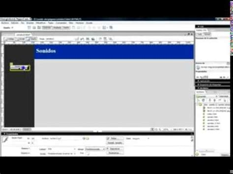youtube tutorial dreamweaver 8 link con bot 243 n flash en dreamweaver 8 tutorial youtube