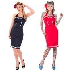 Fancy Dress Nautical Theme - banned new nautical sailor rockabilly vintage 50s pinup party pencil fancy dress ebay
