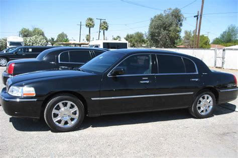 Town Car Transportation by Black Lincoln Town Car Transportation Service 1st Choice