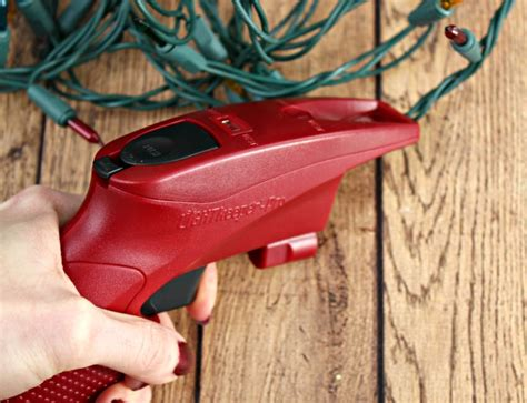 reducing christmas waste how to fix christmas lights