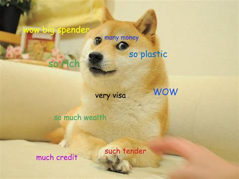 doge credit card template moist poptart u moist poptart reddit