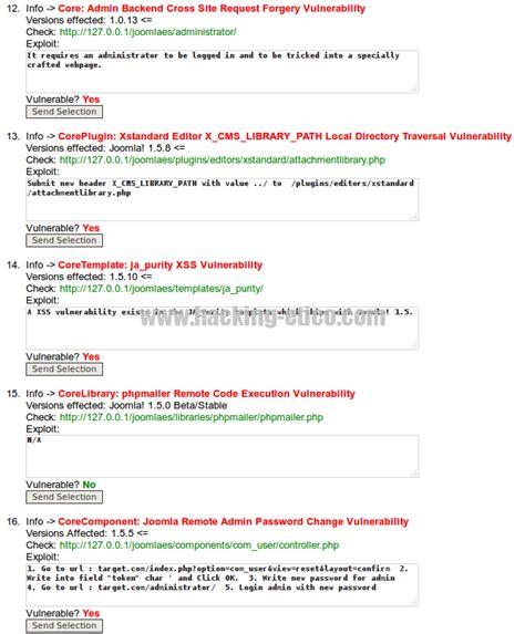 joomla layout xml hackeando joomla