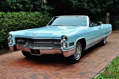 1966 Cadillac Convertible by Folks The Straightest 1966 Cadillac Convertible