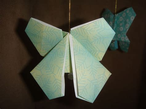 Origami Butterfly Mobile - butterfly origami mobile
