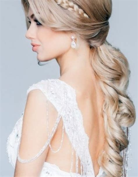 Bridal Hairstyles Let by Wedding Hairstyles Curly And Official