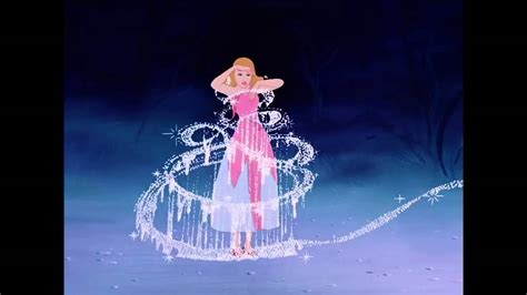 Premium Dress Part 1 hd disney princess cinderella dress transformation