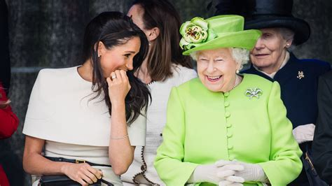 Queen Elizabeth and Meghan Markle Are Having the Best Time