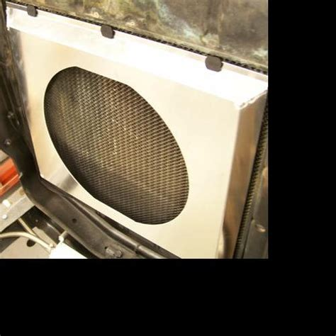 electric cooling fan with shroud welded aluminum electric radiator cooling fan shroud ebay