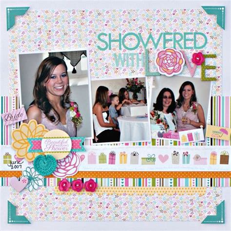 showered with by scrapbook