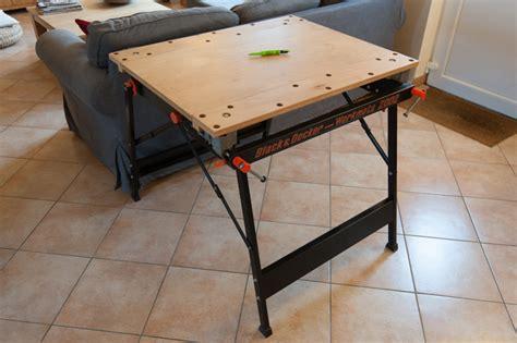 Etabli Black Et Decker 3343 by Black Decker Workmate 2000 Professionnel Travailler Le