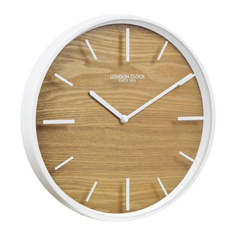 wall clock buy skog white glass wall clock purely wall clocks