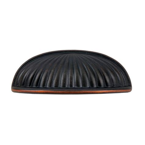 cabinet cup pulls oil rubbed bronze sumner street home hardware belmont 3 in oil rubbed