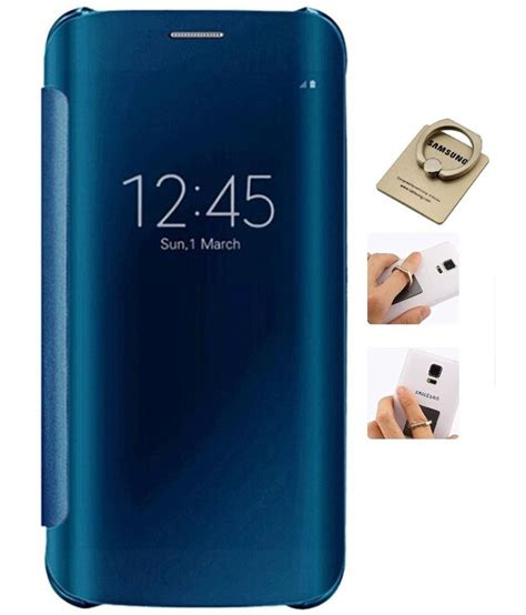 samsung galaxy j7 prime flip cover by ygs blue flip
