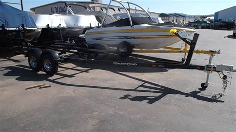 tandem axle boat trailer parts new 2018 yacht club 18 20 5 tandem axle boat trailer