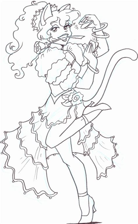 spanish flamenco dancer kitty coloring books in spanish