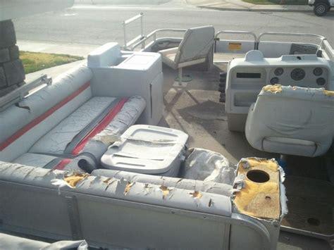 back to back boat seats craigslist 1991 20 sweetwater rebuild pontoon forum gt get help