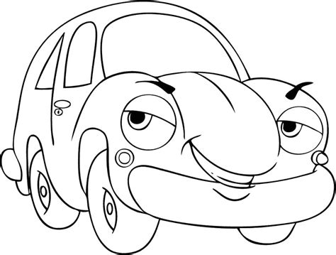 cartoon car coloring page cartoon car drawing cliparts co