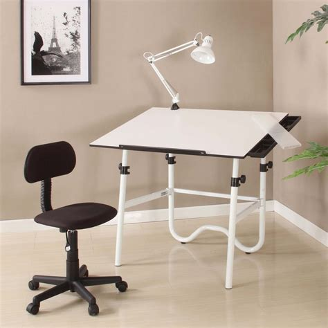 Drafting Table Supplies Alvin Cc2012 Creative Center Drafting Table Combo With Task Chair Cc2012a