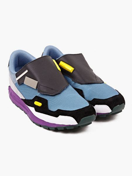 raf simons shoes blue adidas by raf simons formula one sneakers in multicolor for blue lyst