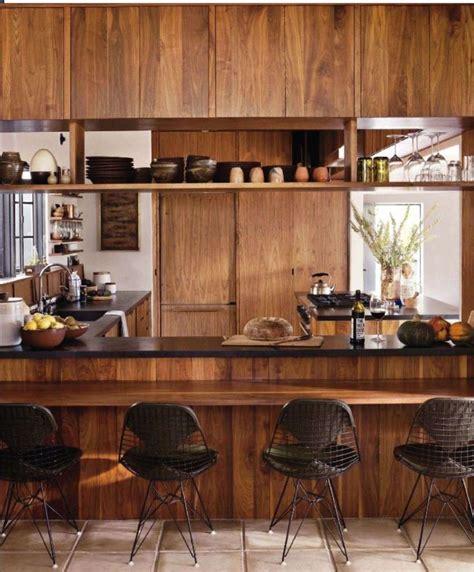 Timber Kitchen Designs | warm timber kitchen design home sweet home pinterest