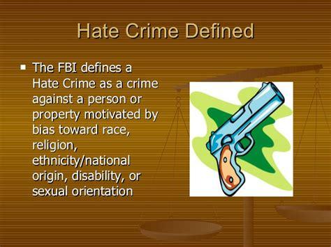 title 18 u s c section 241 hate crimes