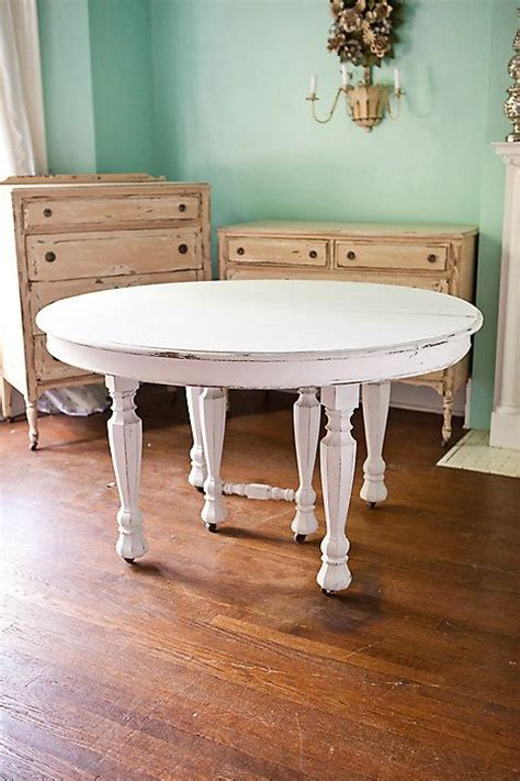 White Dining Tables Shabby Chic Antique Dining Table Shabby Chic White Distressed Kitchen Cottage Prairie Vintage