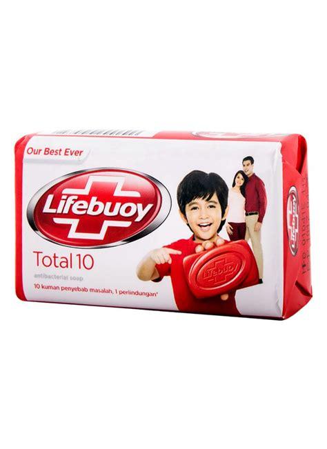 Sabun Total lifebuoy sabun mandi ts 45600 total 10 bar 75g