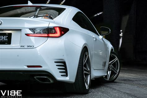 lexus f sport rims vibe motorsports has a pair of rims for the lexus rc350 f