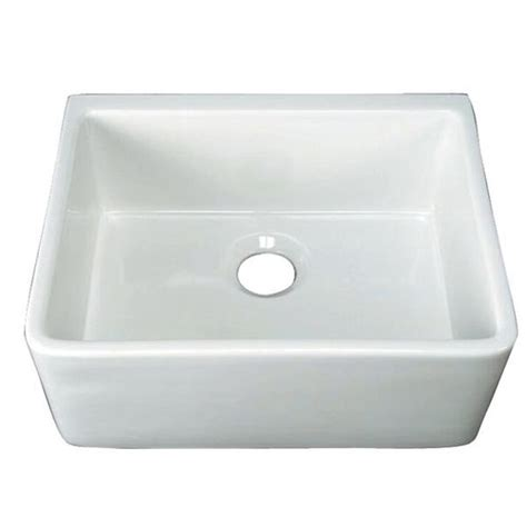 barclay 24 inch center drain farmhouse fireclay sink