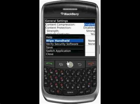 reset blackberry factory how to reset your blackberry to factory setting youtube