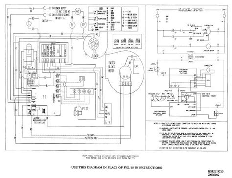 schematic for amana gas furnace wiring diagram get free