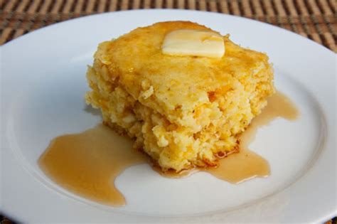 cottage cheese cornbread on closet cooking
