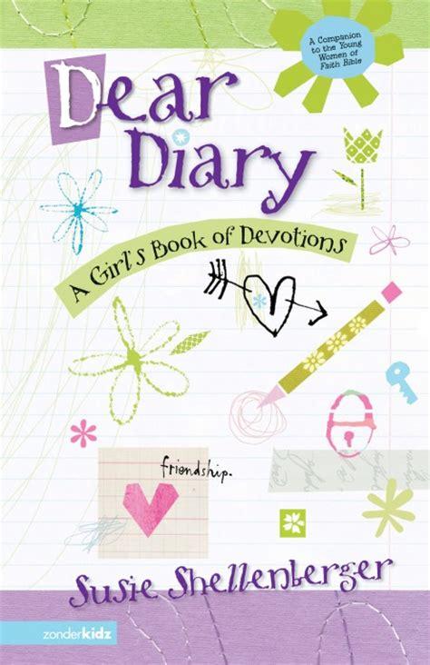 My Dear Devotional Book by Dear Diary A S Book Of Devotions Susie Shellenberger