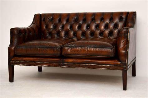 antique buttoned leather sofa antiques atlas