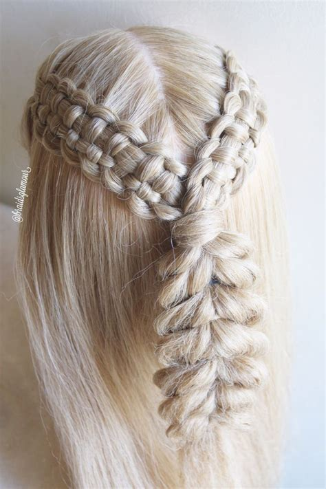 easy front lace braid how to tutorial youtube best 25 zipper braid ideas on pinterest fishtale braid