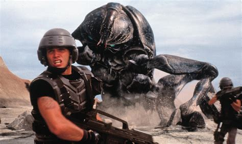 starship troopers film fondue your new spider man and starship troopers tv show