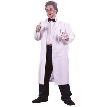 mens mad scientist lab coat buycostumescom