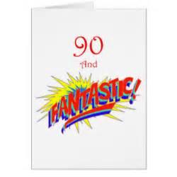 90th birthday greeting cards zazzle
