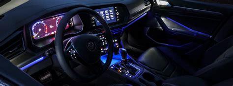 vw jetta interior ambient lighting colors