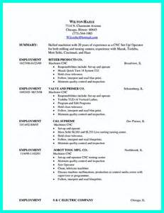 Sample Resume For Machinist cnc machinist resume samples new cnc machinist resume samples resumes