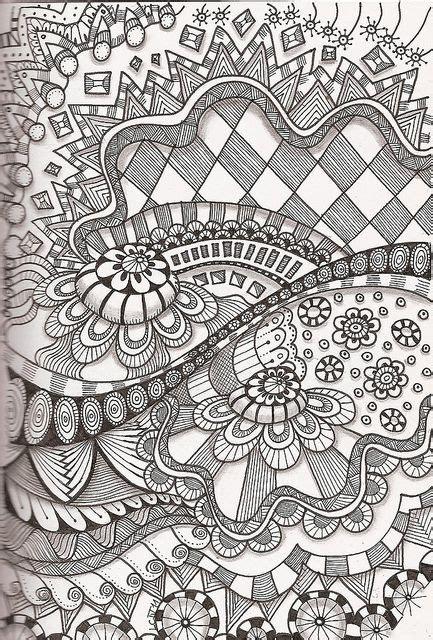 complex doodle drawing le coloriage pour adulte peut transformer votre int 233 rieur