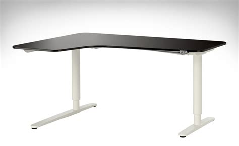 ikea sit and stand desk ikea reception desk for minimalist and modern office